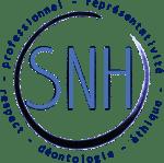 logo SNH - syndicat national des hypnothérapeutes