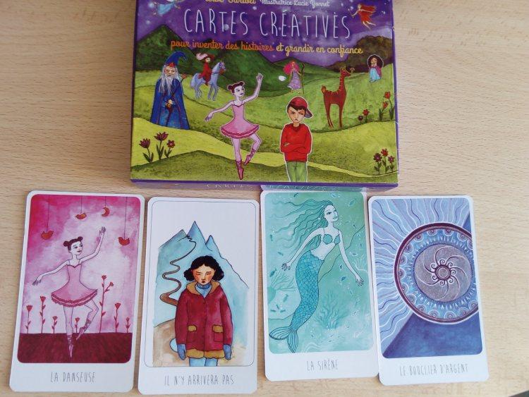 Les cartes créatives, un outil pour travailler avec douceur l'hypnose avec des enfants